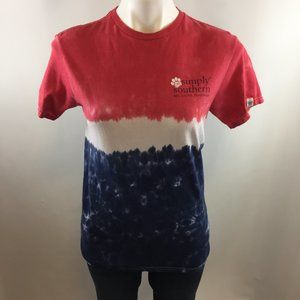 Simply Southern Red, Paws & Blue t-shirt